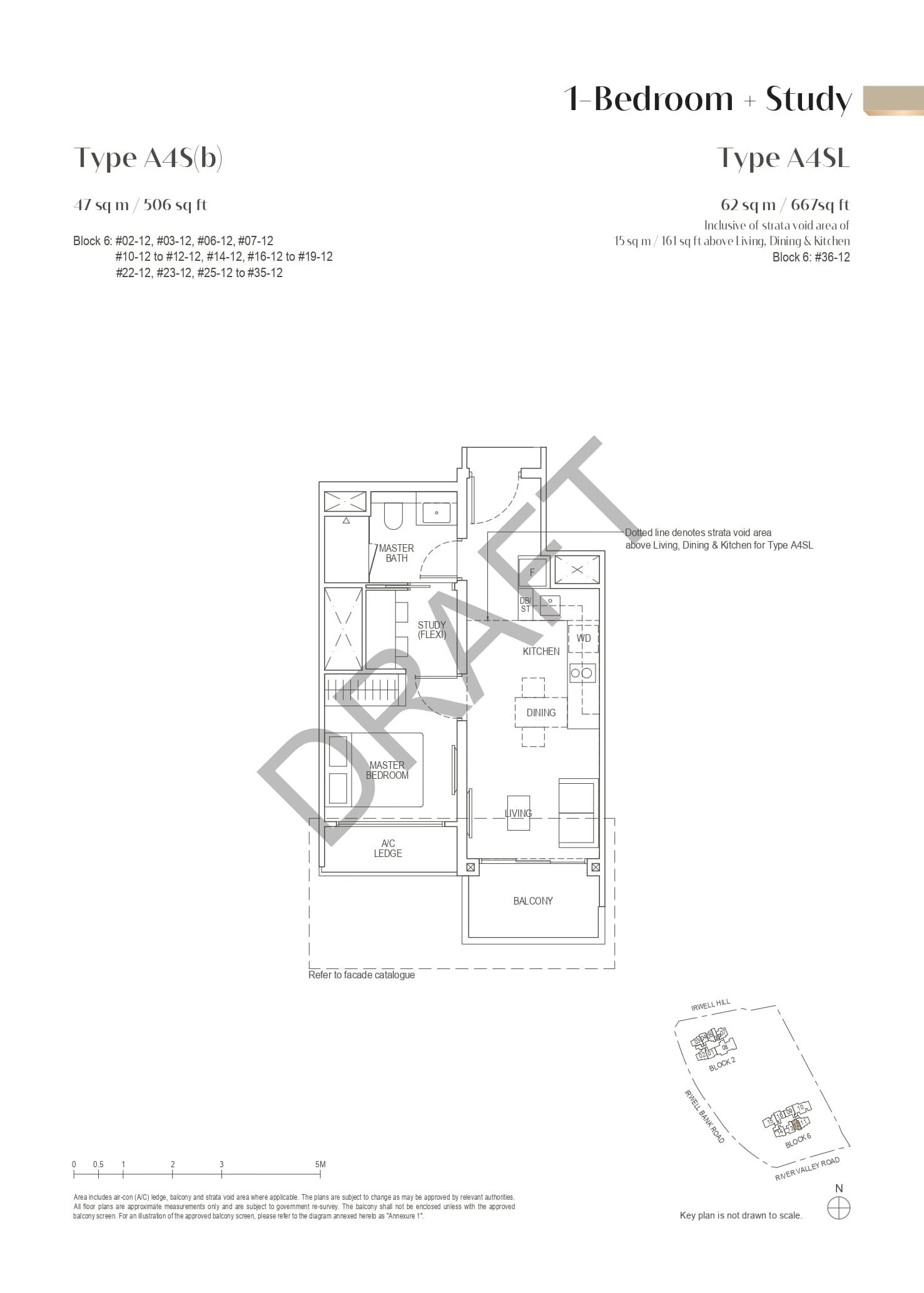 irwell-hill-residences-floor-plan-1-bedroom-study-type-a4sb