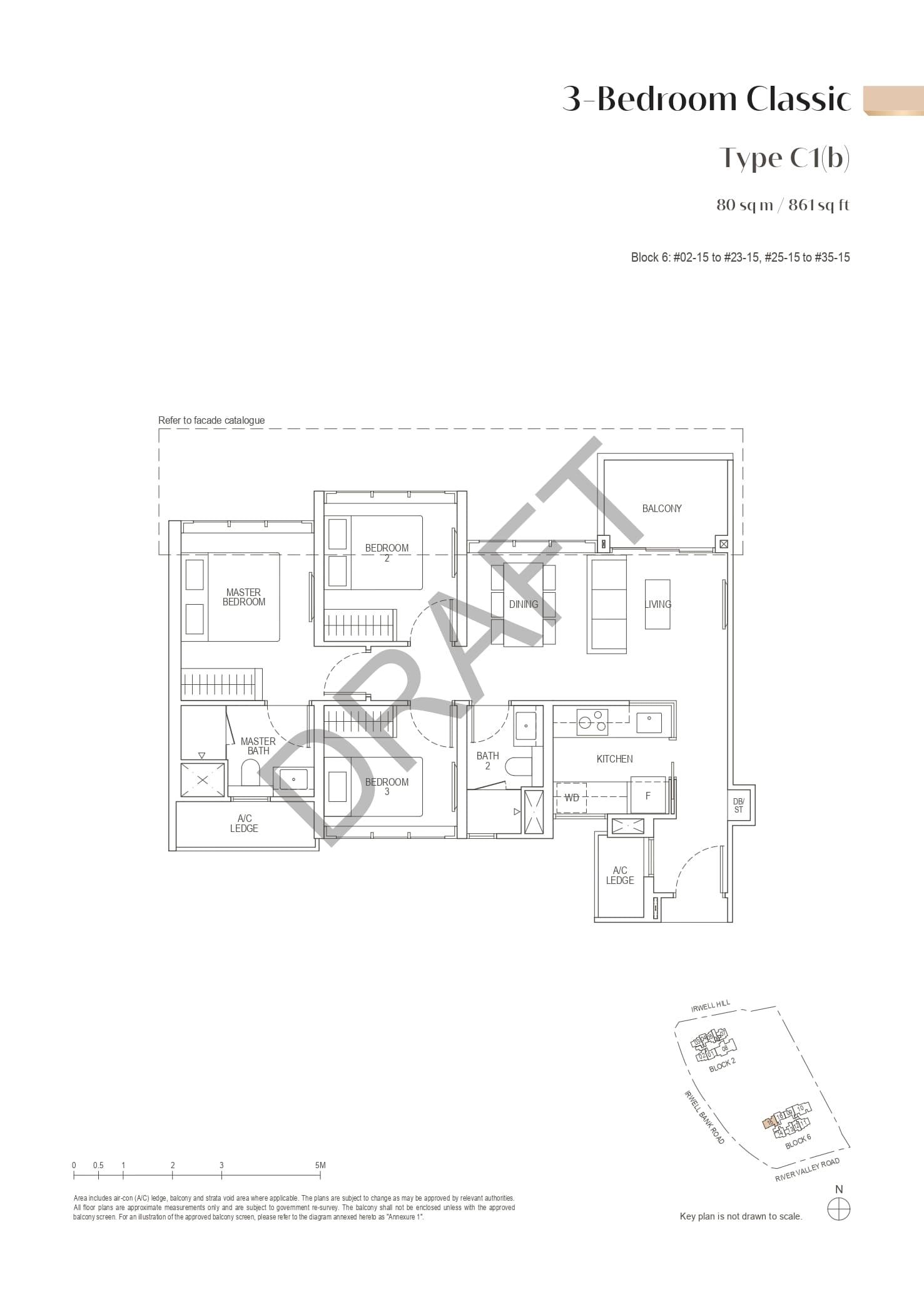 irwell-hill-residences-floor-plan-3-bedroom-classic-type-c1b